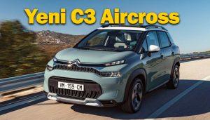 Yeni Citroen C3 Aircross