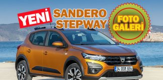 Yeni Dacia Sandero Stepway Foto Galeri
