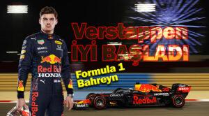 F1 Bahreyn GP Verstappen