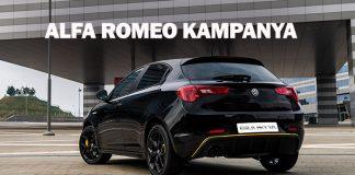 Alfa Romeo'dan Özel Mart Kampanyası başladı