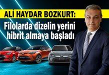 Türkiye pazarında her 100 hibrit aracın 90'ı Toyota