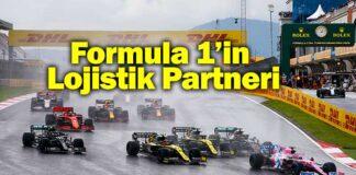DHL, Formula 1'in Resmi Lojistik Partneri