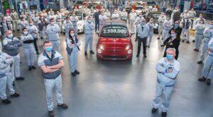 Fiat 500, 2,5 milyon üretim adedine ulaştı
