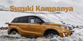Suzuki'nin yeni kampanyası
