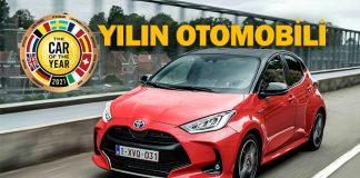 Toyota Yaris 3. kez Yılın Otomobili