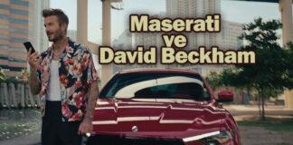 Maserati, David Beckham ile vites yükseltiyor