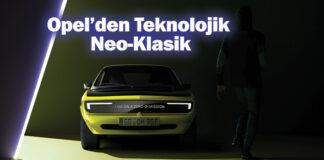 Opel Manta GSe ElektroMOD Mayıs ayında tanıtılacak!