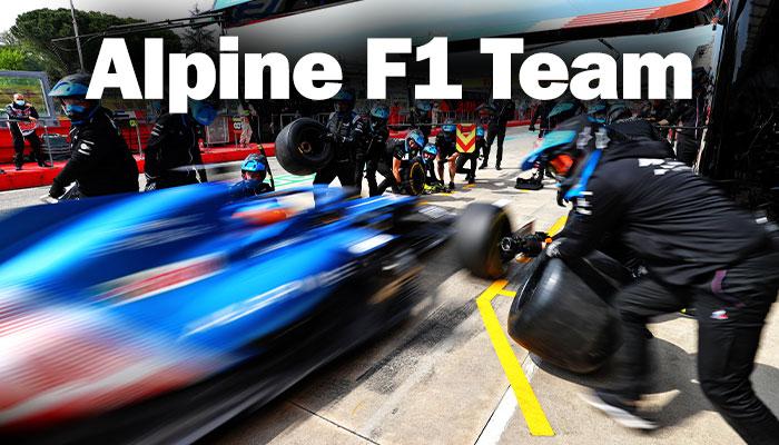 Alpine F1 Takımı, Imola GP'sine odaklandı!
