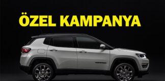 Jeep'ten Renegade ile Compass için özel fiyatlar!