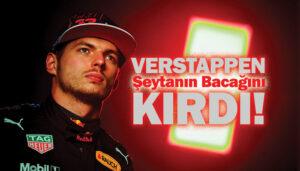 F1 İmolaGP'sinde zafer Max Verstappen'in oldu!