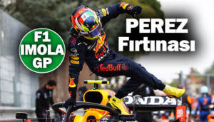 Red Bull Honda pilotu Sergio Perez, startta ne yapar!