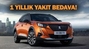Peugeot'dan avantajlı faiz ve 1 yıllık yakıt hediyesi kampanyası