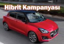 Suzuki Swift hibrit kampanyası