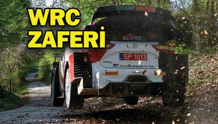 Toyota'dan Hırvatistan Rallisi'nde duble zafer!