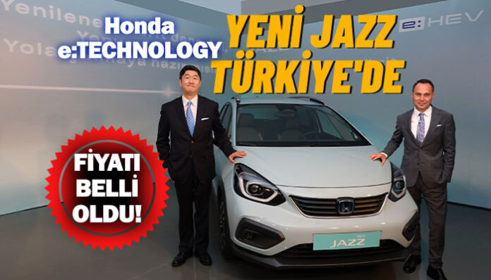 Yeni Hibrit Jazz e:HEV Türkiye'de
