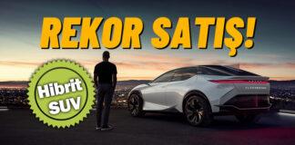 Lexus 2 milyon elektrik motorlu araç sattı