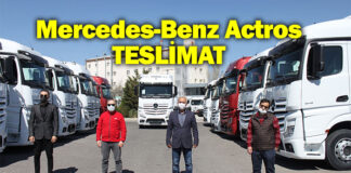 Aslantürk Lojistik, Mercedes-Benz Actros