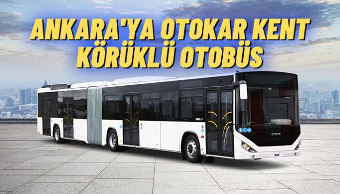 EGO Genel Müdürlüğü'nün 28 adet körüklü otobüsü için imzalar atıldı