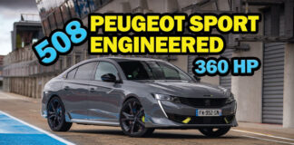 Peugeot'nun ürettiği en güçlü seri üretim otomobili