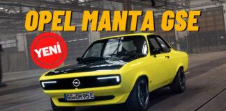 Opel, efsane modeli Manta ile günümüz teknolojisini buluşturdu!