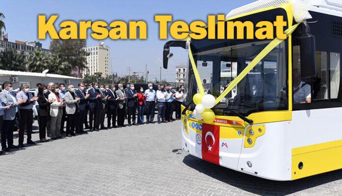 Karsan'dan Mersin'e CNG'li Menarinibus Citymood teslimatı!
