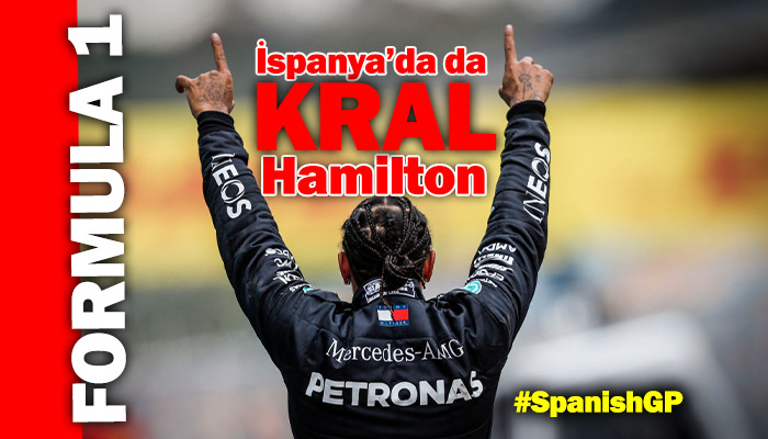 Formula 1'de Lewis Hamilton klasiği devam ediyor!