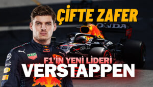 F1 Monaco GP'sinde Red Bull Honda'dan çifte zafer!