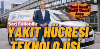 Opel Vivaro-e HYDROGEN, 3 dakikalık şarjla 400 km gidiyor!