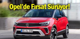 Opel'den hem binek hem de ticari modellerde Mayıs fırsatları!