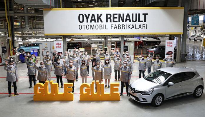Oyak Renault'da Clio üretimine yönelik önemli gelişme!