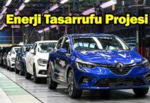 Oyak Renault'dan örnek olabilecek enerji tasarrufu