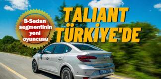 Renault Taliant ilk kez Türkiye'de sahne alıyor!