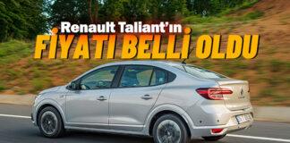 Renault'nun yeni oyuncusu Taliant Türkiye'de kaça satılacak!