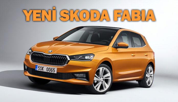 Yeni Skoda Fabia