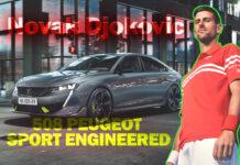 Tenisçi Novak Djokovic, Yeni Peugeot 508 reklam filminde