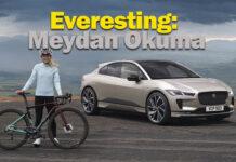 Jaguar I-PACE Everesting mücadelesini tek şarjla bitirdi