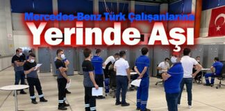Mercedes-Benz Türk çalışanları COVID-19'a karşı aşılandı