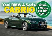 Yeni BMW 4 Serisi Cabrio