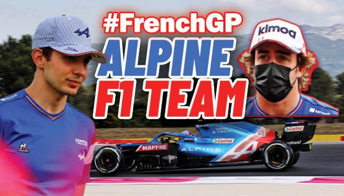 Alpine F1 Team kendi evinde rahat!