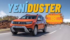 Türkiye'nin SUV lideri Dacia Duster, yeni yüzünü gösterdi