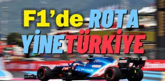 Formula 1 seyircili olarak tekrar İstanbul Park'ta!