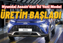Hyundai BAYON ve i20 N'in Türkiye'de üretimi başladı