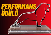 MAN Truck & Bus SE'de Türkiye'ye eniyi performans ödülü