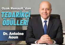 """Oyak Renault """"Tedarikçi Başarı Ödülleri"""" sahiplerini buldu"""
