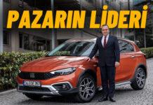 Otomotiv pazarının en çok tercih edilen markası yine Fiat!