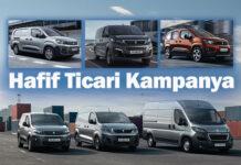 Peugeot'dan hafif ticari araç modellerinde yeni kampanya