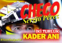 F1 Azerbaycan GP'sinde Red Bull Honda'yı Sergio Perez sırtladı!