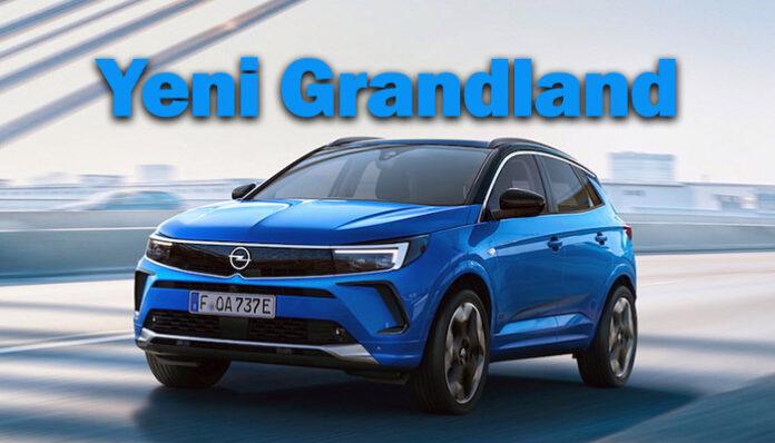 Opel, Grandland'i de 'Opel Vizör' tasarım anlayışıyla yeniliyor