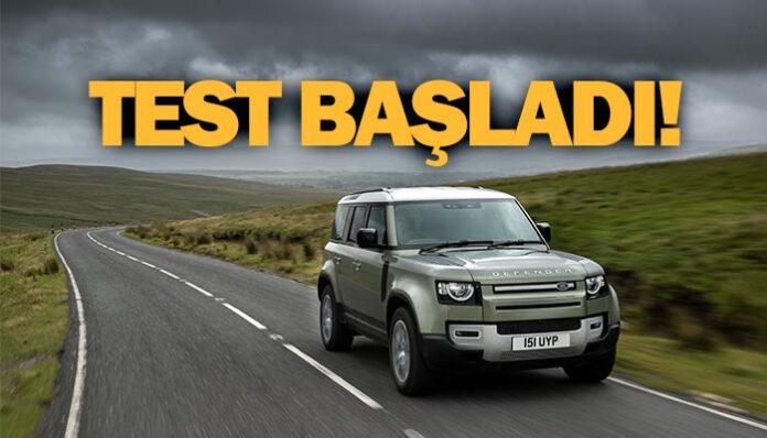 Land Rover, Hidrojen Yakıt Hücreli Defender'ın testlerine başlıyor
