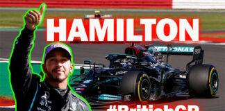 Olaylı Formula 1 Büyük Britanya GP'sinde zafer Lewis Hamilton'ın!